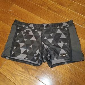 Nike dri fit compression shorts